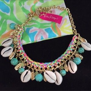 NWT Lilly Pulitzer shell necklace - adjustable